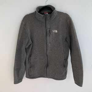 The North Face Zip Up Sweater Fleece Jacket L